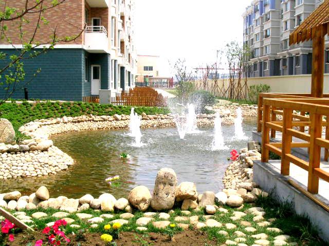 昌宇花园水系图