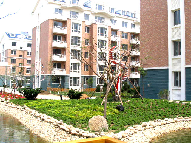 昌宇花园园区景观
