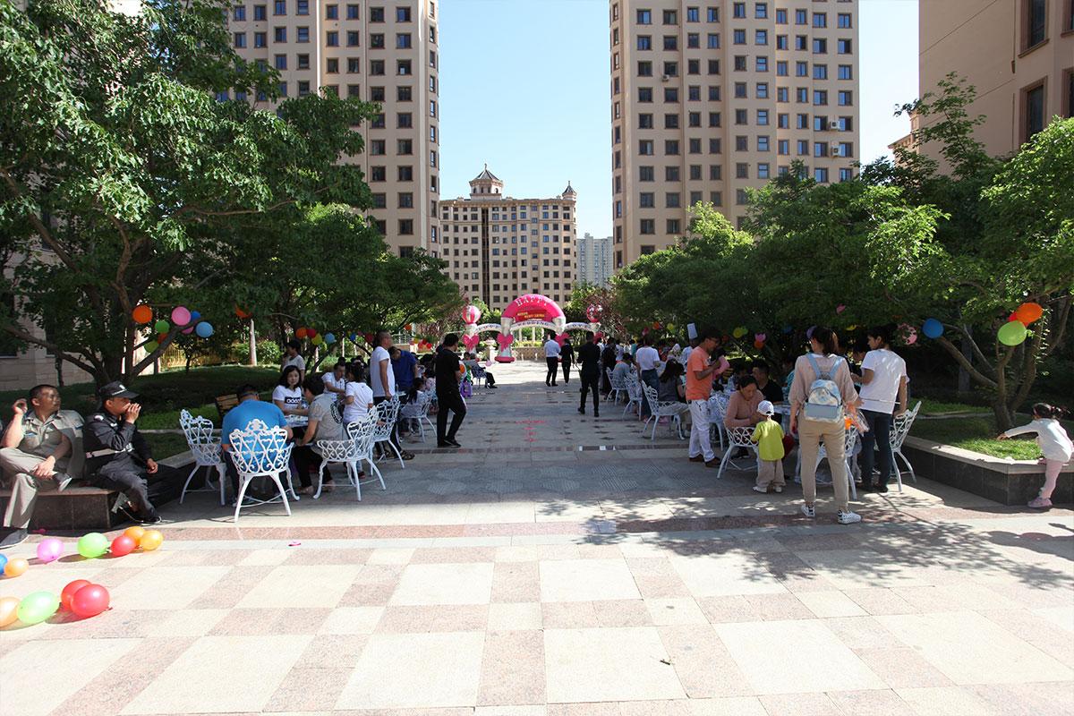 六一儿童节物业公司为园区内所有儿童策划儿童节活动